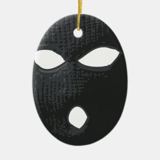 Kriminellmaske Keramik Ornament