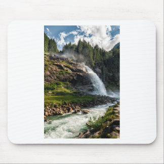 krimml Wasserfall, Österreich Mousepad