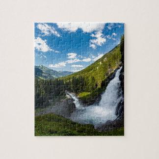 krimml Wasserfall, Österreich Puzzle