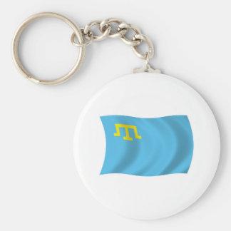 Krimtatar-Flagge Keychain Schlüsselanhänger