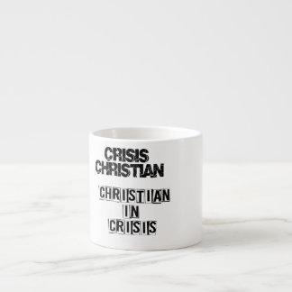 Krise christlich espressotasse