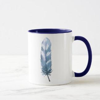 Kristall und Feder Tasse