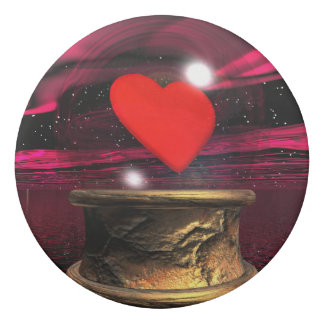 Kristallball für Liebe - 3D übertragen Radiergummis 0