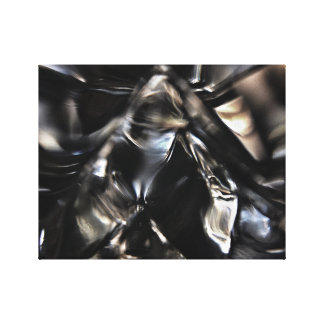 Kristallbrechung II Leinwanddruck