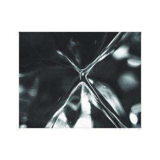 Kristallbrechung Leinwanddruck