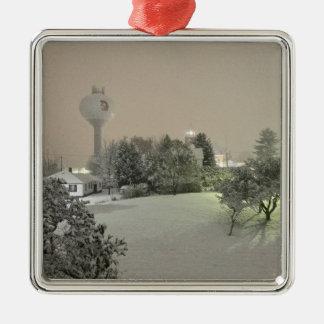 Kristallfälle, MI-Verzierung Silbernes Ornament