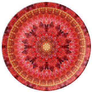 Kristallfeuer-Mandala Teller
