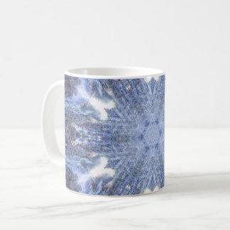 Kristallisierter Ozean Kaffeetasse