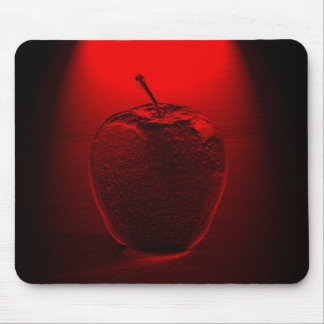 Kristallisiertes rotes Apple Mousepad