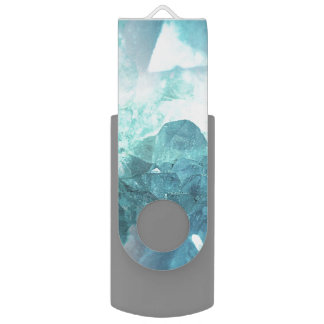 Kristallminze USB Stick
