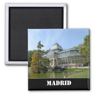 Kristallpalast, Madrid-Magnet Quadratischer Magnet