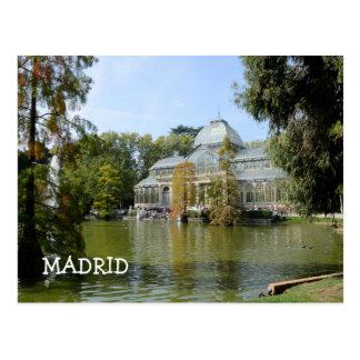 Kristallpalast, Madrid Postkarte