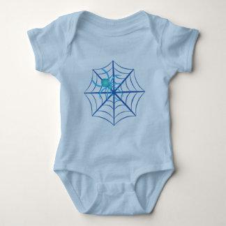 Kristallspinne Baby Strampler