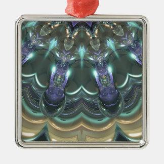 Kristallsun-Reflexionen Silbernes Ornament