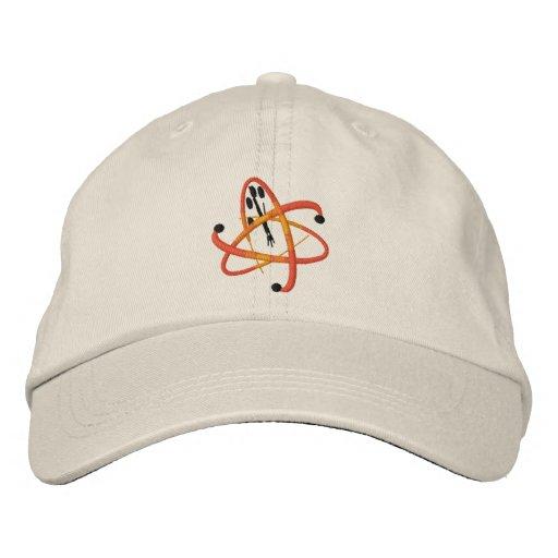 Kritischer Verwirrungs-Logo-Hut Bestickte Kappe