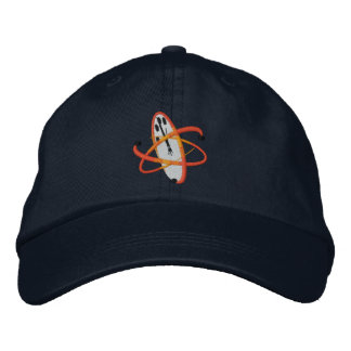Kritischer Verwirrungs-Logo-Hut Bestickte Baseballmützen