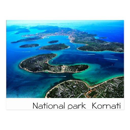 Kroatien - adriatisches Meer Postkarten