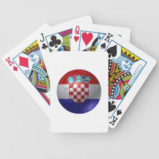 Kroatien-Ball Bicycle Spielkarten