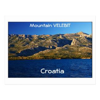 Kroatien - Berg Velebit Postkarte