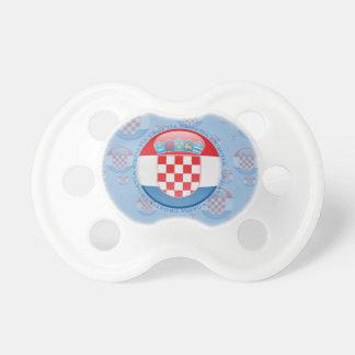 Kroatien-Blasen-Flagge Schnuller
