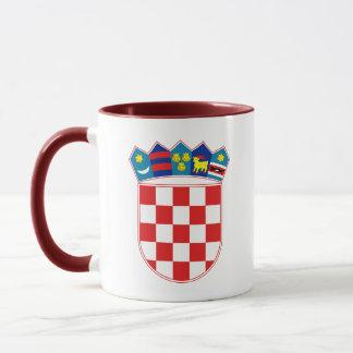 Kroatien-Emblem Tasse