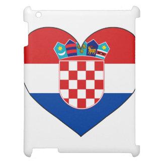 Kroatien-Flagge einfach iPad Cover
