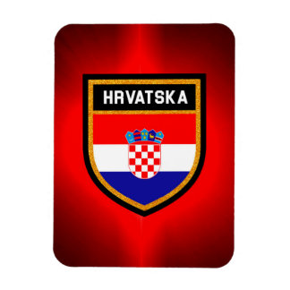 Kroatien-Flagge Magnet