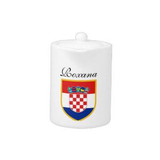 Kroatien-Flagge personalisiert