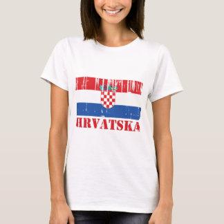 Kroatien-Flagge T-Shirt