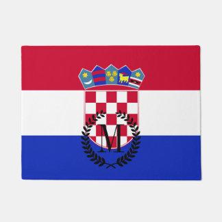 Kroatien-Flagge Türmatte