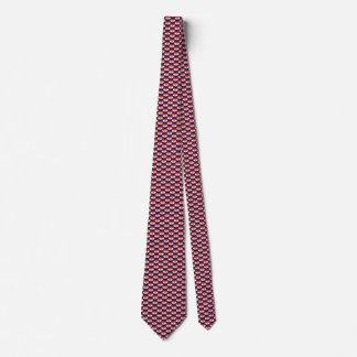 Kroatien-Flaggen-Herz-Krawatte Krawatte