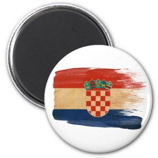 Kroatien-Flaggen-Magneten Runder Magnet 5,7 Cm