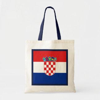 Kroatien-Flaggen-Tasche Tragetasche