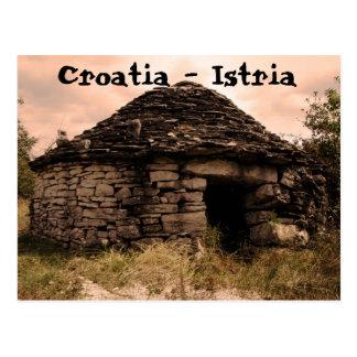 Kroatien - Istria Postkarte