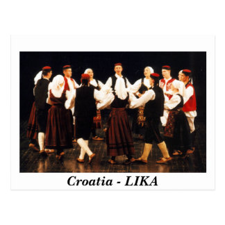 Kroatien - LIKA Postkarte