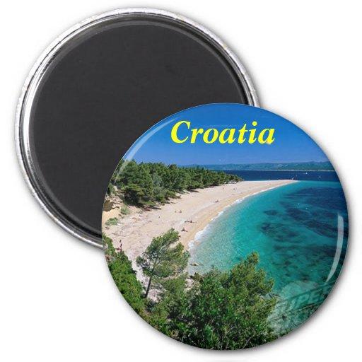 Kroatien-Magnet Kühlschrankmagnete