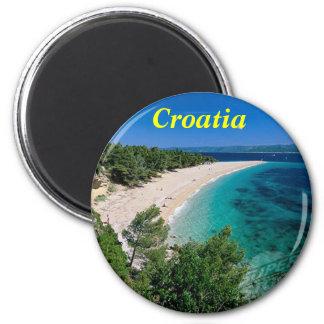 Kroatien-Magnet Runder Magnet 5,1 Cm