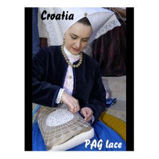 Kroatien, PAG-Spitze Postkarte