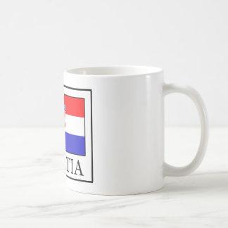 Kroatien-Tasse Kaffeetasse