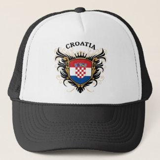 Kroatien Truckerkappe