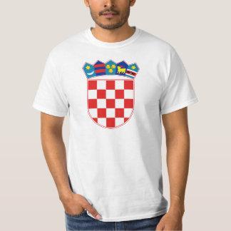 Kroatien-Wappen Stunde Hrvatska T Shirts