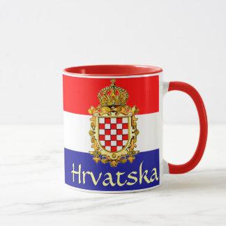 Kroatien-Wappen Tasse
