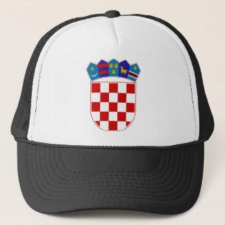 Kroatien-Wappen Truckerkappe