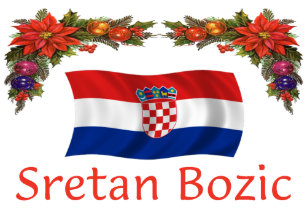 Weihnachten In Kroatien.Sretan Geschenke Zazzle De