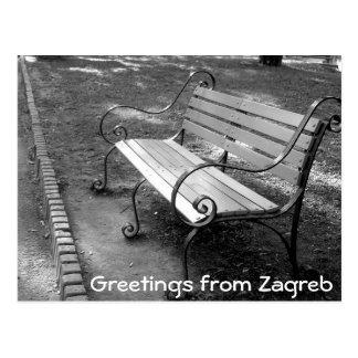 Kroatien - Zagreb Postkarte