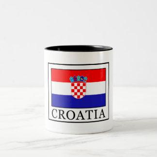 Kroatien Zweifarbige Tasse