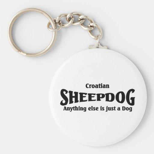 Kroatischer Schäferhund Schlüsselanhänger
