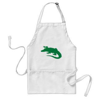 Krokodil-Alligatoralligatorreptil Schürze