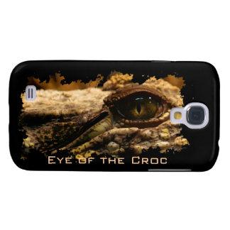 Krokodil-Auge, Reptil, wild lebende Tiere, Galaxy S4 Hülle