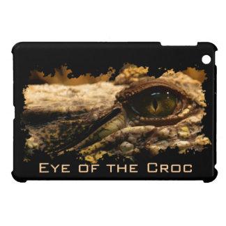 Krokodil-Auge, Reptil, wild lebende Tiere, iPad Mini Hülle